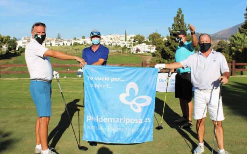 Butterfly Skin charity benefits from two golf events