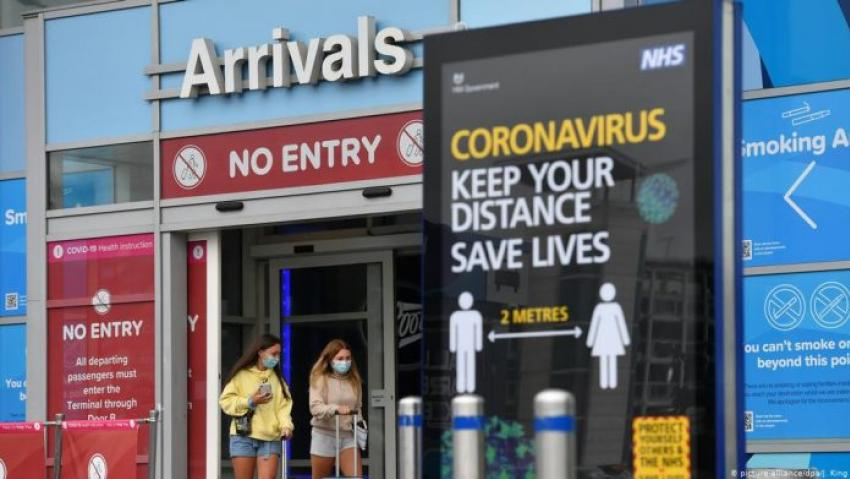 Four More Holiday Destinations Added to UK Quarantine List