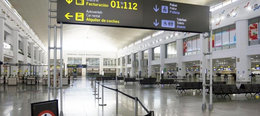 The Government opens the port and the airport of Malaga for special transport
