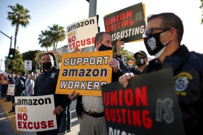 Amazon s new union battle: Teamsters go local to snarl expansion