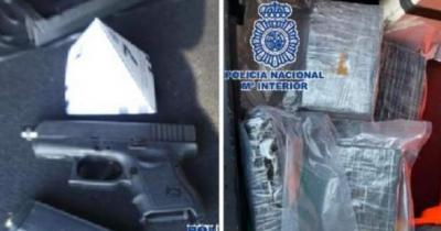 Estepona Man Arrested With Cocaine And Handgun In His Car