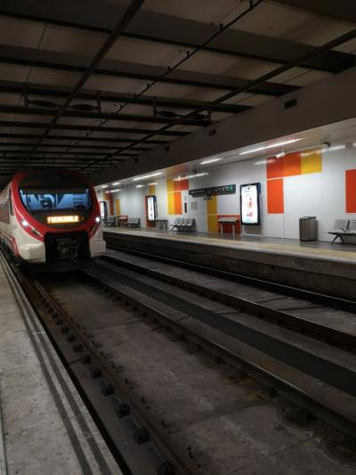 Malaga Metro brings forward its last weekend services