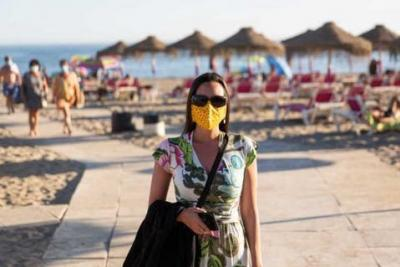 New Health Proposal For Use of Masks on the Beach